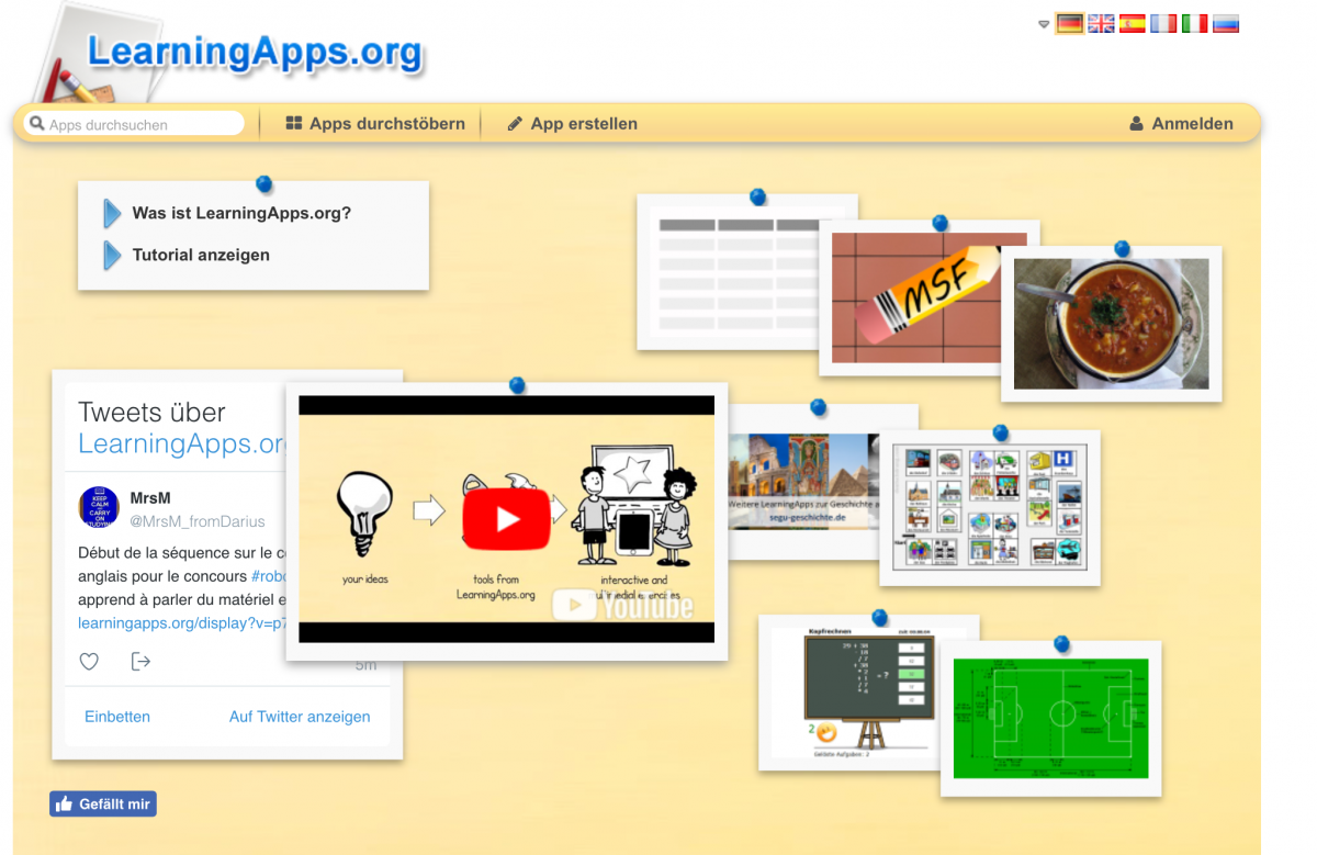 Gamification-Tools: LearningApps