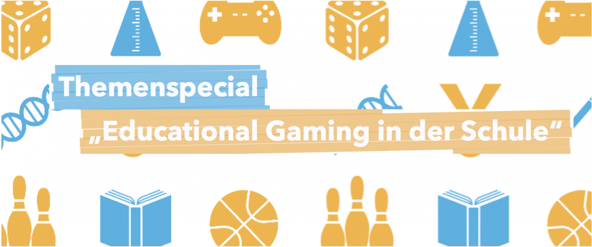 Banner Themenspecial Educational Gaming in der Schule