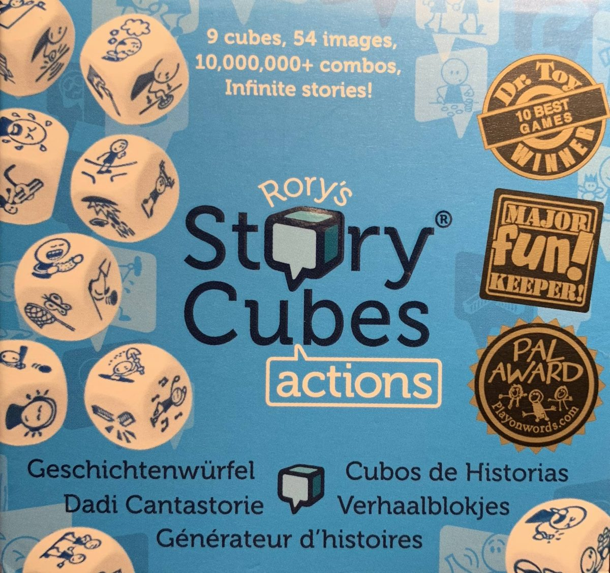 Game-Based Learning in der Schule: Rory's Story Cubes