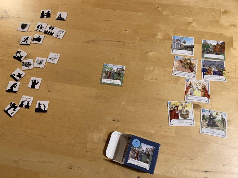 Spielmaterialien Textura (Inhalts- und Verknüfpungskarten)