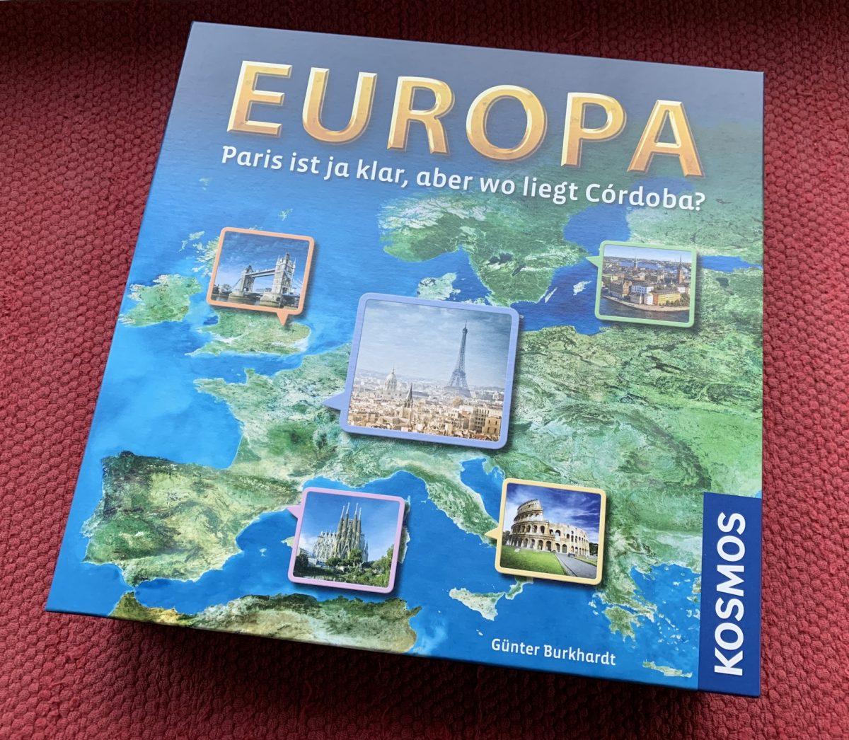 Europa Spielschachtel