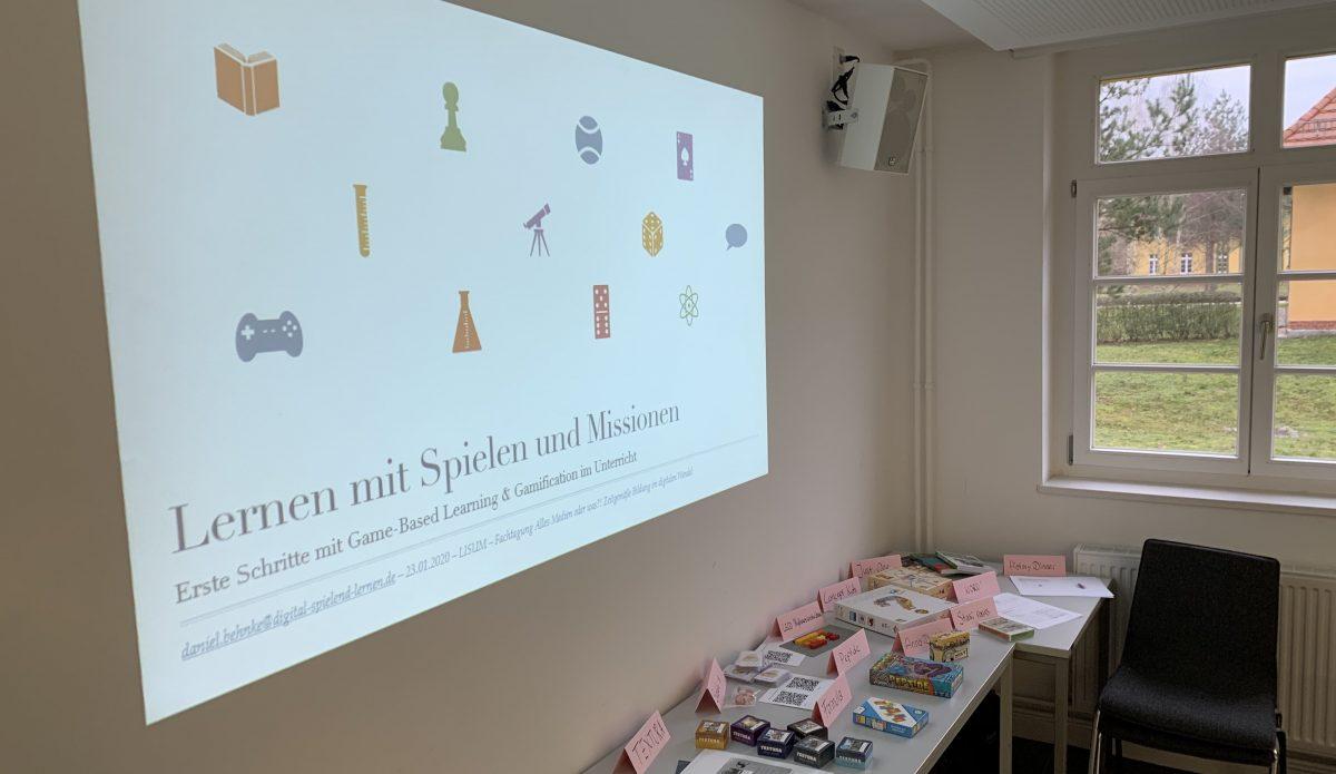 Lernen mit Spielen und Missionen – Präsentation zum Workshop